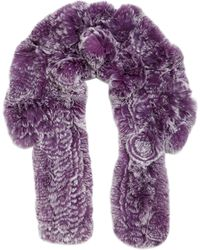 Annabelle New York - Rex Rabbit Fur Scarf - Lyst