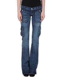 Rock & Republic Denim Pants - Lyst