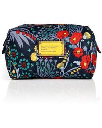 Marc By Marc Jacobs Floral Print Large Cosmetic Case - Lyst
