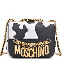Moschino Vache Charm S Messenger - Lyst
