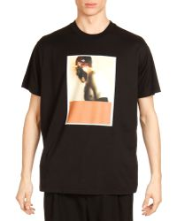 Givenchy Columbia Abstract Face-print Tee - Lyst