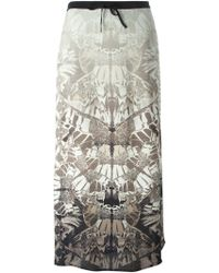 Lily and Lionel 'Papillo Stone' Maxi Skirt - Lyst