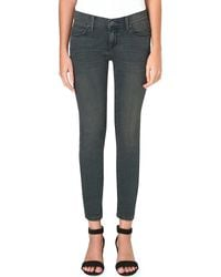 Free People Skinny Midrise Jeans Patsy Wash - Lyst