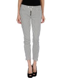 Textile Elizabeth and James Casual Pants - Lyst