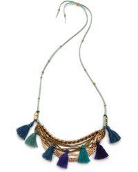 Serefina - Tassel Necklace - Lyst
