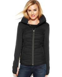 Michael Kors Michael Active Quilted Down Coat - Lyst