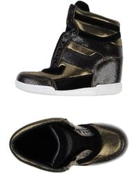 Marc By Marc Jacobs Sequined Leather Loafers - Lyst