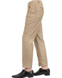 Façonnable - Wool & Linen Blend Canvas Suit - Lyst