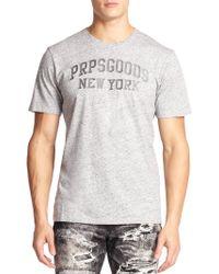 PRPS MÉLange Graphic T-Shirt gray - Lyst
