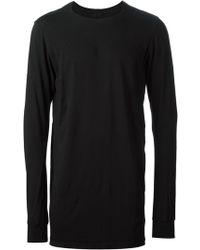 DRKSHDW by Rick Owens Long Sleeved Tshirt - Lyst