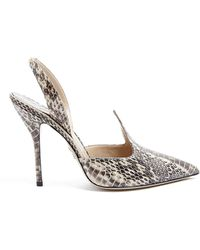 Paul Andrew Pallida Pointed Sling Back High Shoes - Lyst