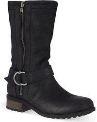 Ugg Silva Mid Calf Boots - Lyst