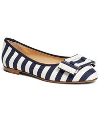 Brooks Brothers Ballet Flats - Lyst