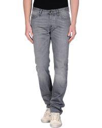 C+ Plus | Denim Trousers | Lyst