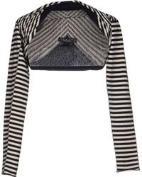 Twin-set Simona Barbieri Black Shrug - Lyst