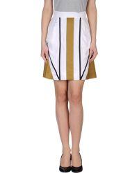 Fendi Knee Length Skirt - Lyst