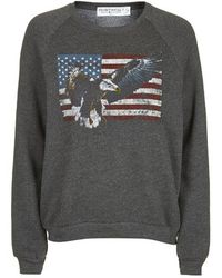 Topshop Eagle Print Sweat By Project Social T - Lyst