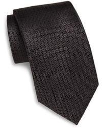 English Laundry - Neat Textured Silk Tie - Lyst