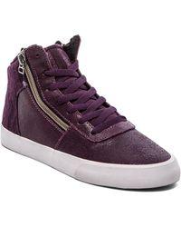 Supra Purple Cuttler Sneaker - Lyst