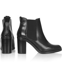 Topshop Missile Box Chelsea Boots - Lyst