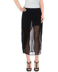 Silent - Damir Doma - 3/4 Length Skirt - Lyst
