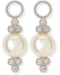 Jude Frances 18K Provence Pearl Drop Earrings nhAFid4P