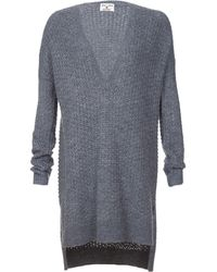 Alice + Olivia Exclusive Long Sleeve Chunky Tunic Sweater - Lyst