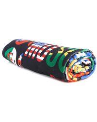 Moschino Smiley-Flag Print Towel - Lyst