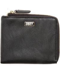 Obey Drexel Zip Wallet - Lyst