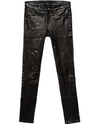 Rag & Bone   The Leather Skinny   Lyst