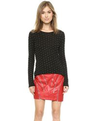 Jay Ahr Beaded Long Sleeve Sweater  - Lyst
