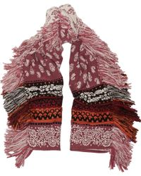 Burberry Prorsum - Wool, Cashmere And Cotton-blend Jacquard Scarf - Lyst