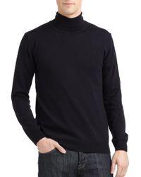 Calvin Klein Merino Wool Turtleneck Sweater Slim Fit - Lyst