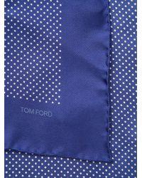 Tom Ford - Micro Dot Handkerchief - Lyst