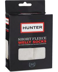Hunter Fleece Welly Socks - Lyst