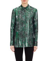 Stella McCartney Abstract Jacquard Shirt - Lyst