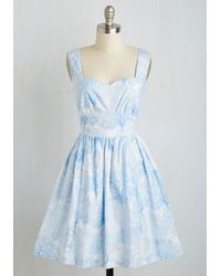 ModCloth | Snowfalling For You Dress | Lyst
