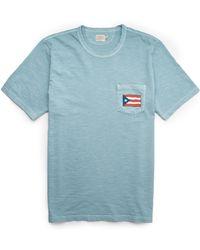 Faherty Brand - Mens Puerto Rico Pocket Tee - Lyst