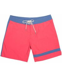 Faherty Brand - Classic Boardshort (7 Inch Inseam) - Lyst