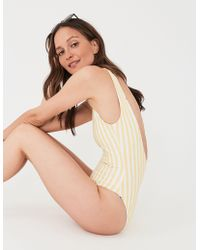 Faherty Brand - Reversible Mykonos One Piece - Lyst