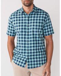 Faherty Brand - Short-sleeve Ventura Shirt - Lyst