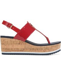 Tommy Hilfiger T-gunther Shoes - Red