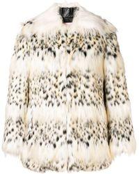 Giamba - Faux Fur Jacket - Lyst