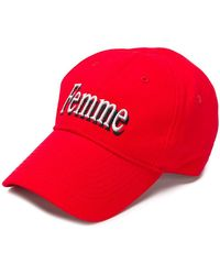 Balenciaga - Femme Baseball Cap - Lyst