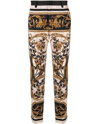 Dolce & Gabbana バロックプリント パンツ - マルチカラー