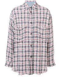 Faith Connexion - Oversize Tweed Shirt - Lyst