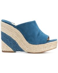 Paloma Barceló - Mamey Wedge Mules - Lyst