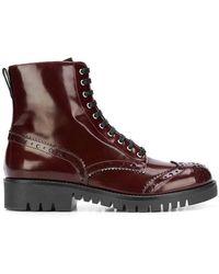 McQ - Bess Brogue Boots - Lyst