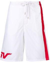 Givenchy - Side Stripe Swim Shorts - Lyst