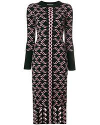 Temperley London - Patterned Knit Dress - Lyst
